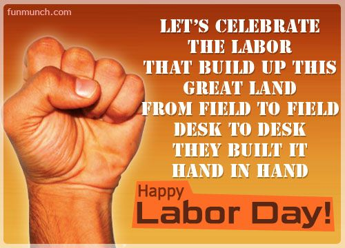 Greetings Quotes and Message On Labor Day Images