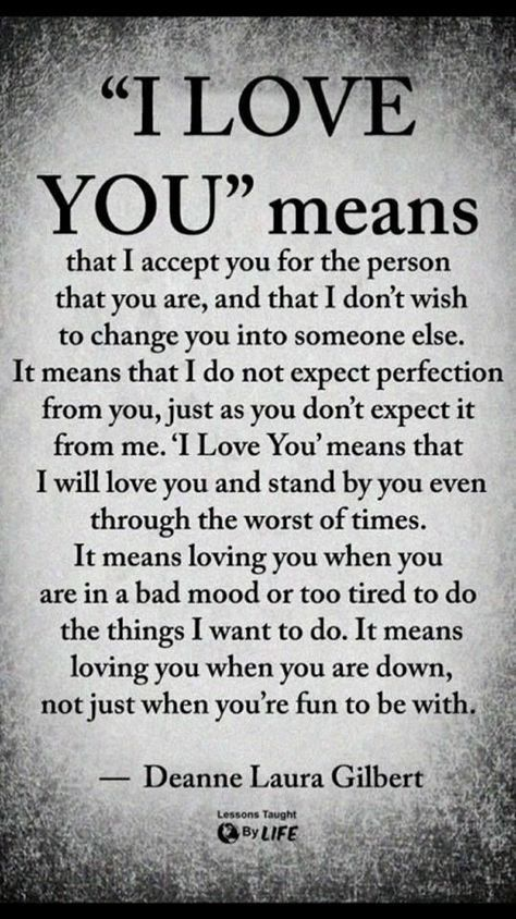 I Love You Means Love Quotes
