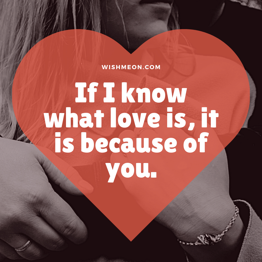 If I Know What Love Love Quotes