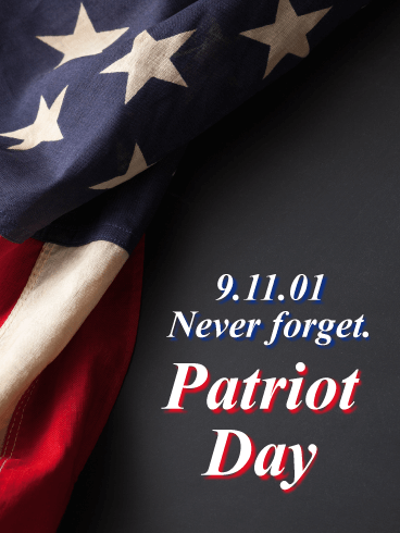 Patriot Day Greetings e cards Wishes And Messages