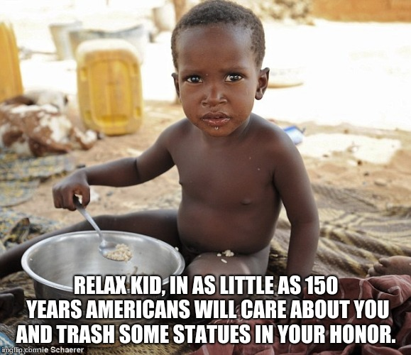 Relax Kid In As Little African Meme