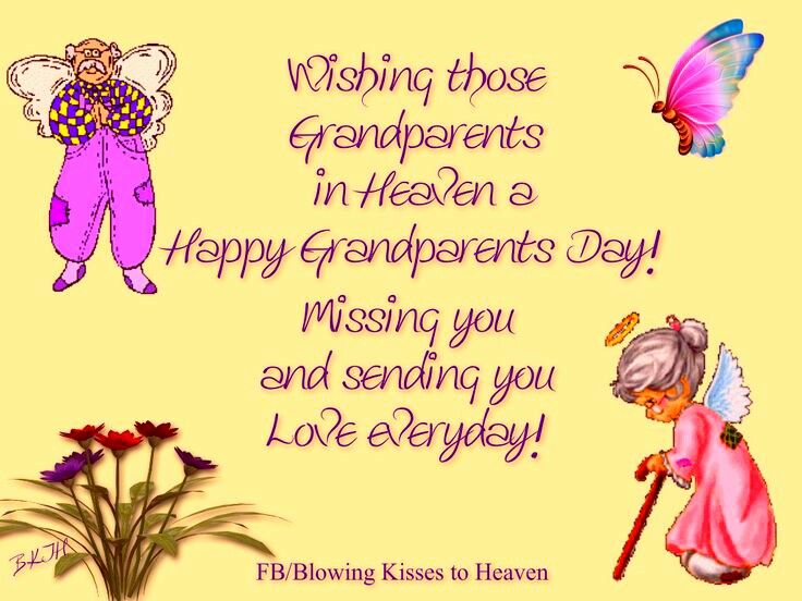 WIsh You A Very Happy Grandparents Day Wishes Day Images