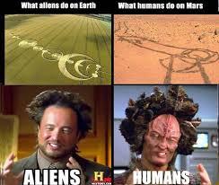 What Aliens Do On Earth Alien Meme