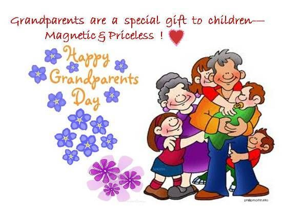 Wish A Very Happy Grandparents Day Wishes And Quotes Message Images