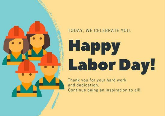 Wish You A Very Happy Labor Day Greeting Message And Quotes