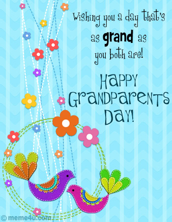Wonderful Grandparents Day Greetings E Cards And Quotes Images