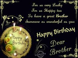 Best Brother Happy Birthday Stay Blessed Wishes And Greetings Quotes