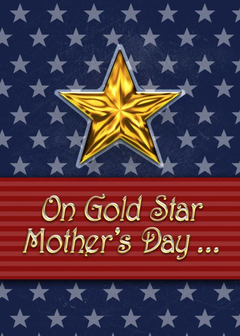 Best Greetings Cards And Messages On Gold Star Mother's Day Greetings Images