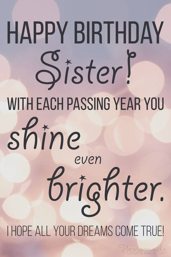 Best HappyBirthday Sister Quotes And Messages Greetings Images