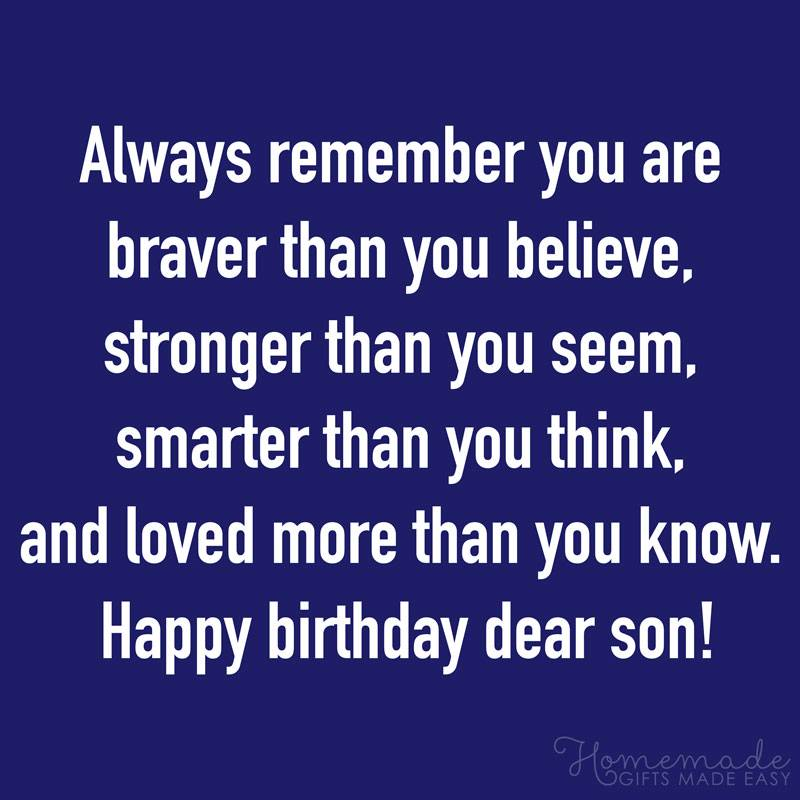 Best Quotes And Wishes For Son On His Birthday Images