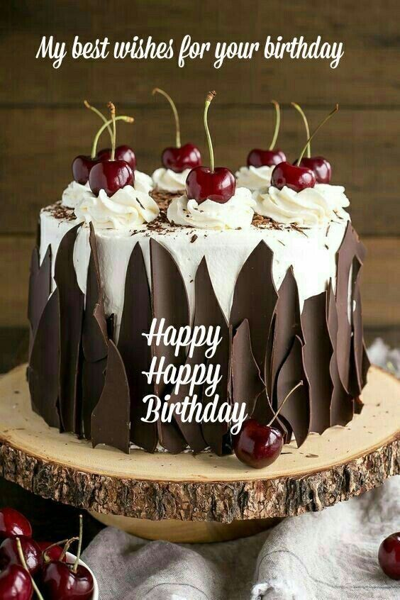 Best Wishes Birthday Cake and Images