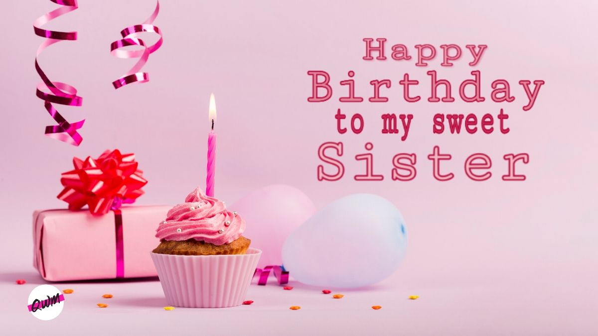 Best Wishes Happy Birthday To My Lovely Sister Greetings And Messages Images