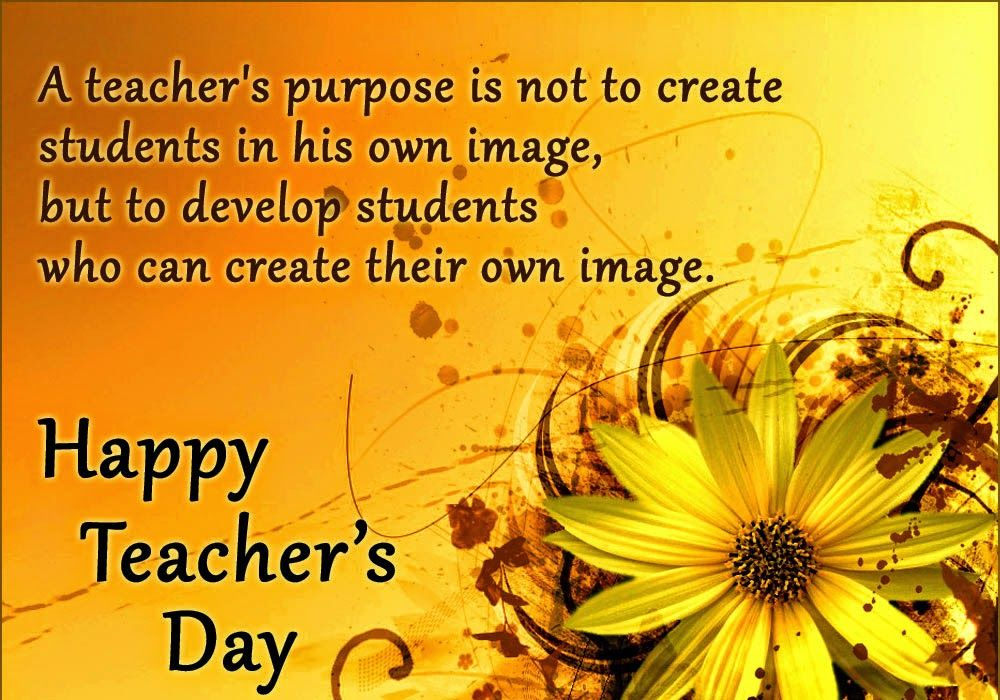 Best teacher's Day Quotes And Greetings Messages Images
