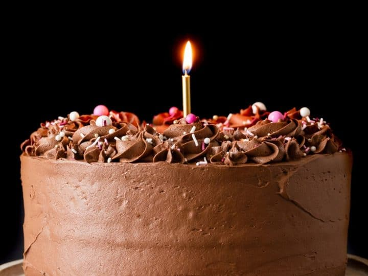 Chocolate Birthday Cake For Someone Special