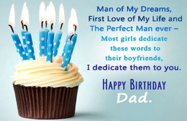Dad Birthday Greetings And Wishes Messages Images