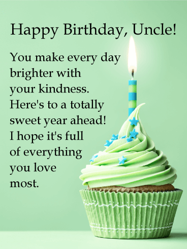 Dear Uncle Birthday Wishes And Greetings Cards Messages Pictures