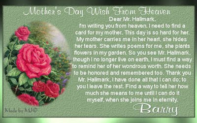 Gold Star Mother's Day Best Greetings Quotes And Messages