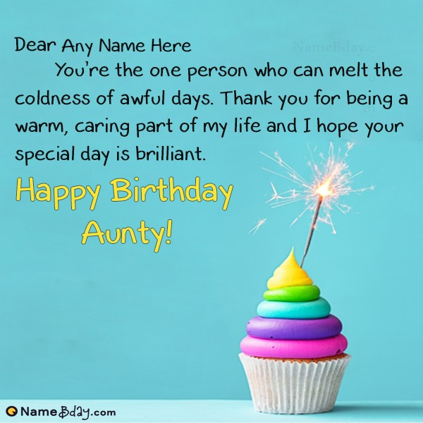 Happy Birthday Aunt Lots Of Love Best Wishes And Greetings Messages