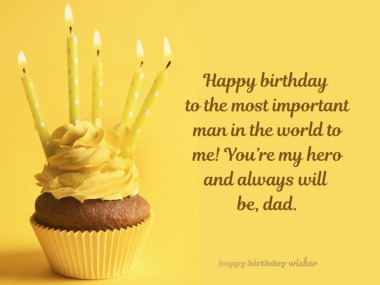 Happy Birthday To My Great Dad GOD Bless You Greetings Quotes And Images