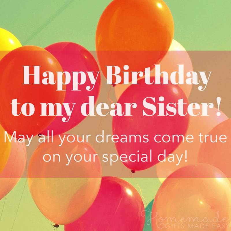 Happy Birthday To My Special Sister Best Wishes Images And Cards Images