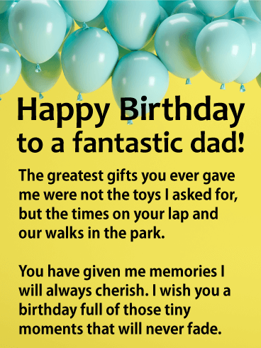Have A Great Day Dad Wish You A Very Happy Birthday Greetings Messages