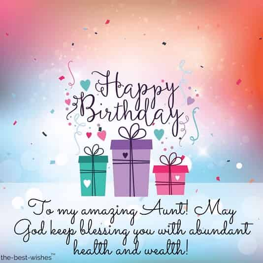 Have a Great Birthday Dear Aunt Greetings Quotes And Wishes Images