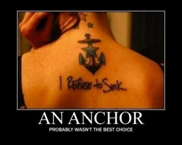I Refuse To Sink Anchor Meme