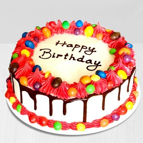 Superb Happy Birthday Cake Image