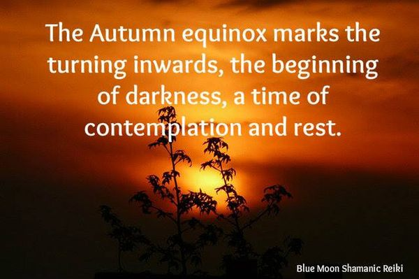 The Autumn Equinox Marks The Tureing
