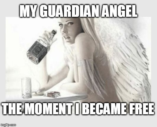 The Moment I Became Angel Meme