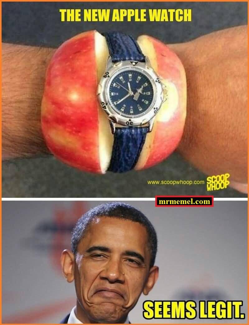 The New Apple Watch Apple Meme