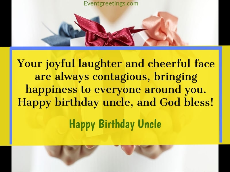 To Lovely Uncle Birthday Greetings And Awesome Wishes Quotes Images