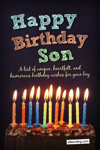 To My Best Son Happy Birthday Have A Wonderful Day Greetings Cards And Messages Images