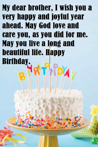 To My Dear Brother Have Wonderful Birthday Greetings Quotes And Wishes Picture
