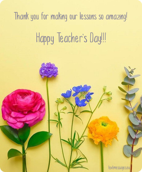To My best Teacher Happy Teacher's Day Wishes And Greetings Images