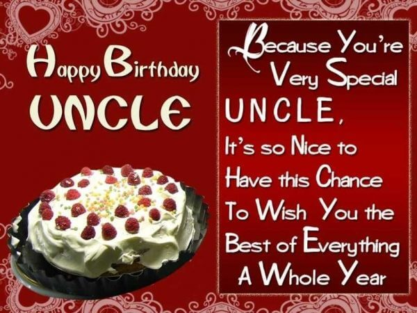 To World Best Uncle Happy Birthday Wishes And Greetings Message Images