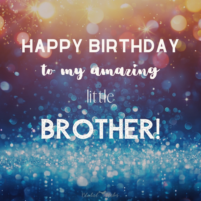To my Amazing Brother Happy Birthday Bro Greetings And WIshes Photos