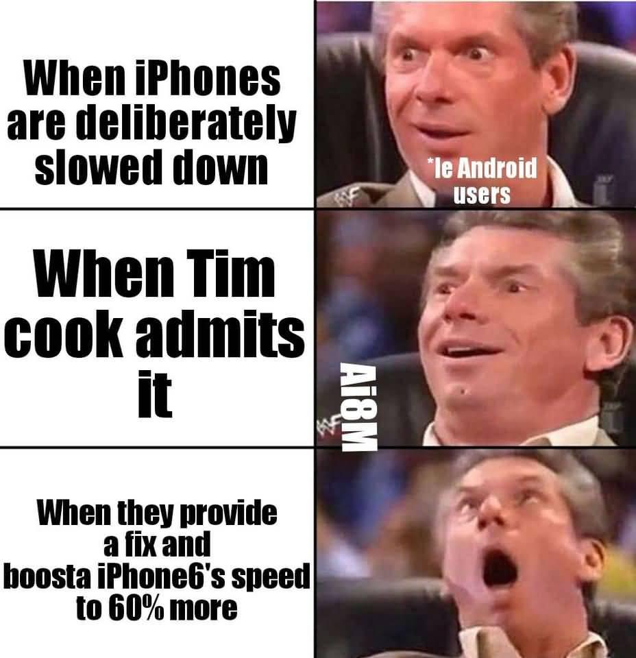 When Iphones Are Deliberately Apple Meme
