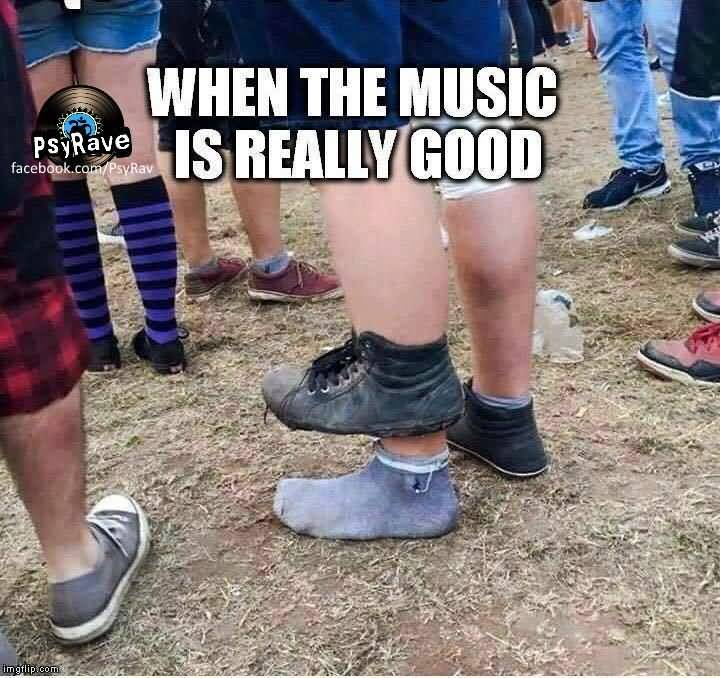 When The Music Is Ankle Meme