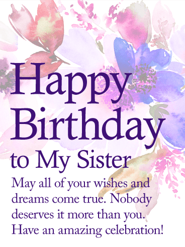 Wish You A Very Happy Birthday You Are The Best Greetings And Wishes Cards With Quotes Images