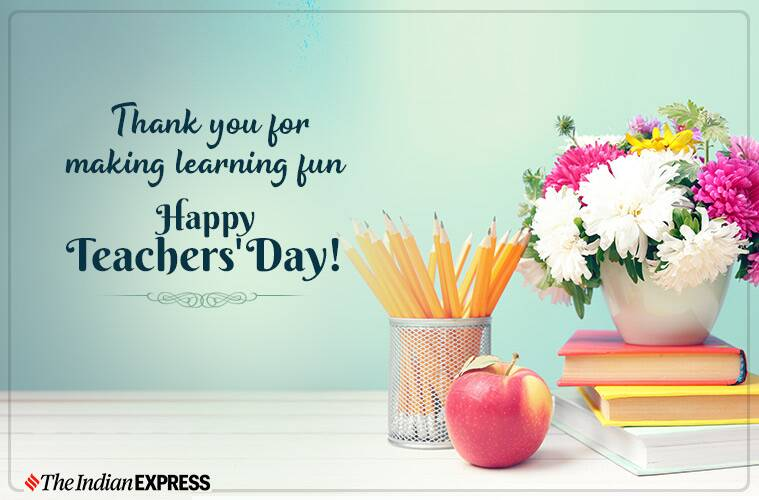 Wishing You A Wonderul Day Happy Teacher's Day Wishes And Greetings Images