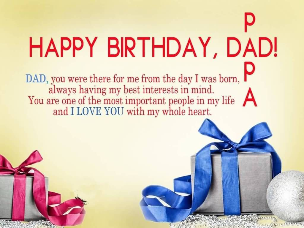 Wishing You A very happy Birthday Dad Greetings Wishes and Quotes Images