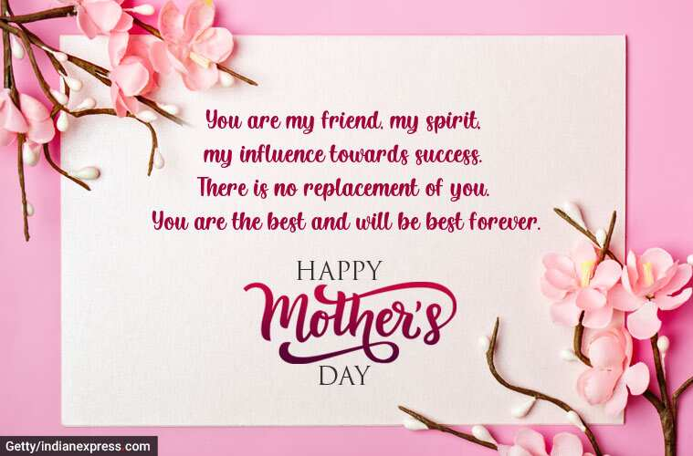 You are The Best Mom Happy Mother's Day Wishes And Greetings Messages Quotes Images