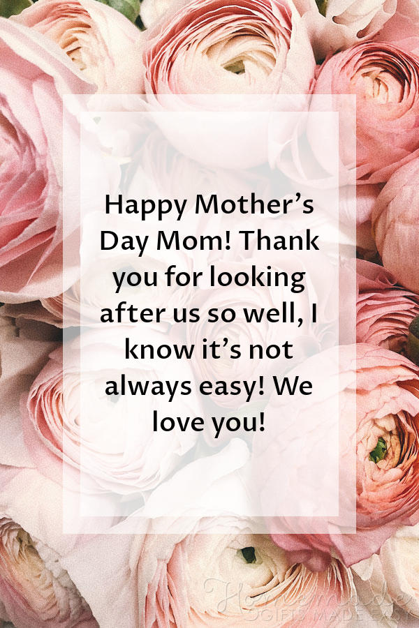 Happy Mother's Day To My Sweet Mom Wishes And Greetings Messages