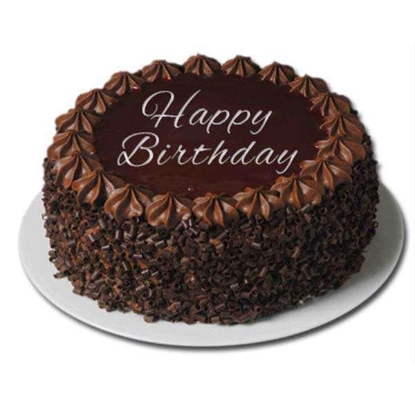 dark Chocolate Birthday Greetings Cakes And Idea