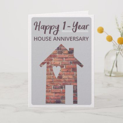 Happy 1 Year House