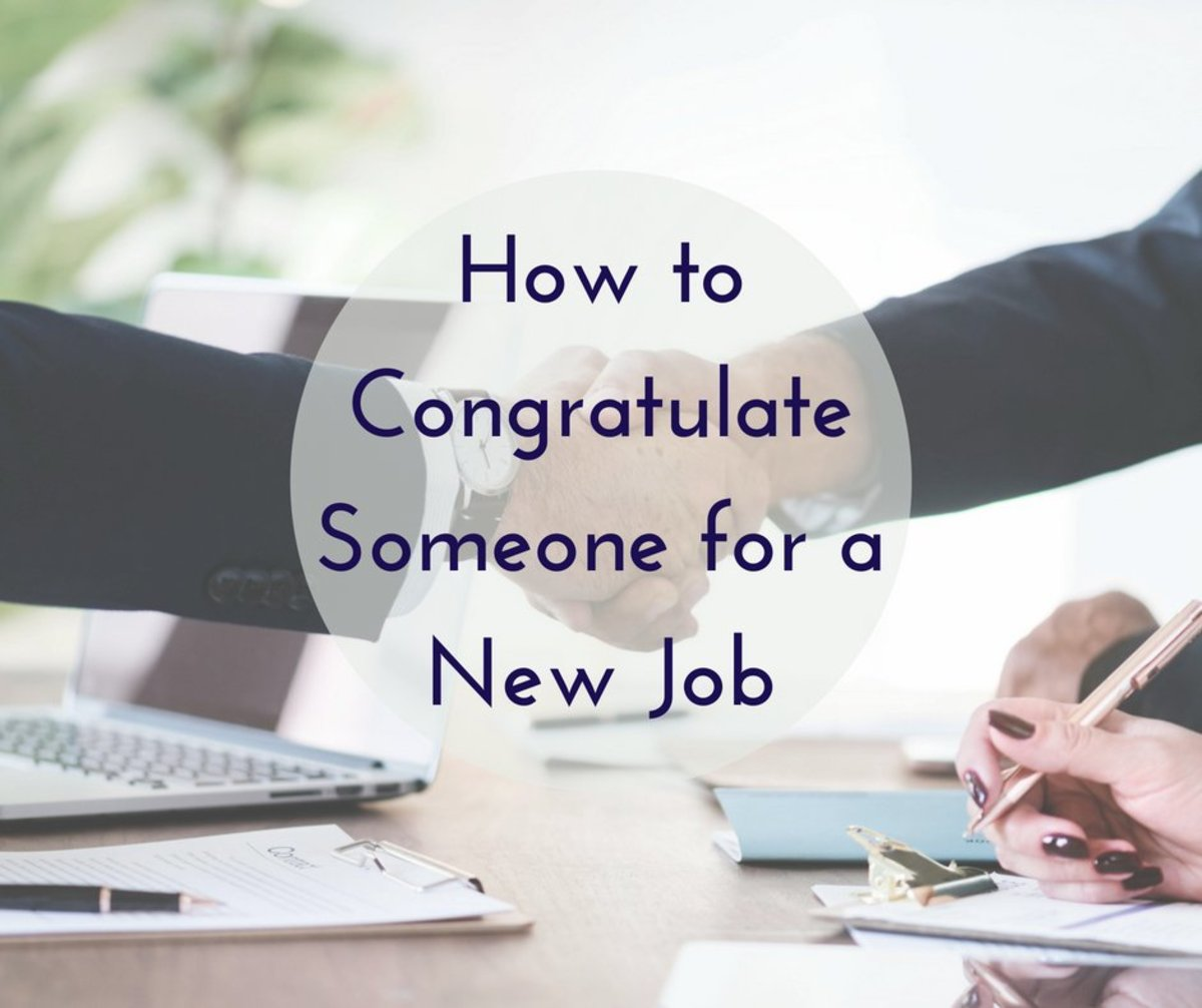How To Congratulate Someone For A New Job