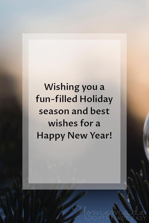 Wishing You A Fun Filled Hioliday