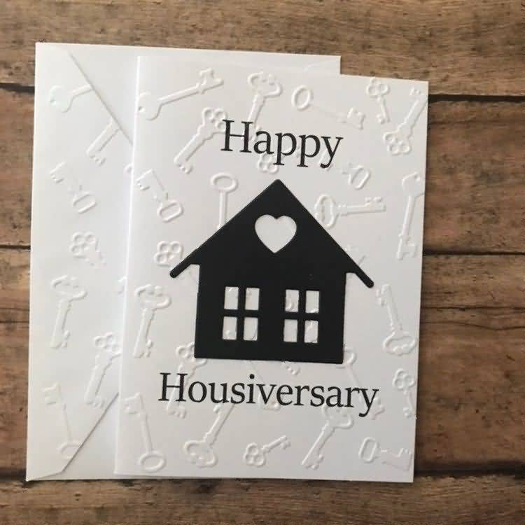 Happy Housiversary Greeting Card