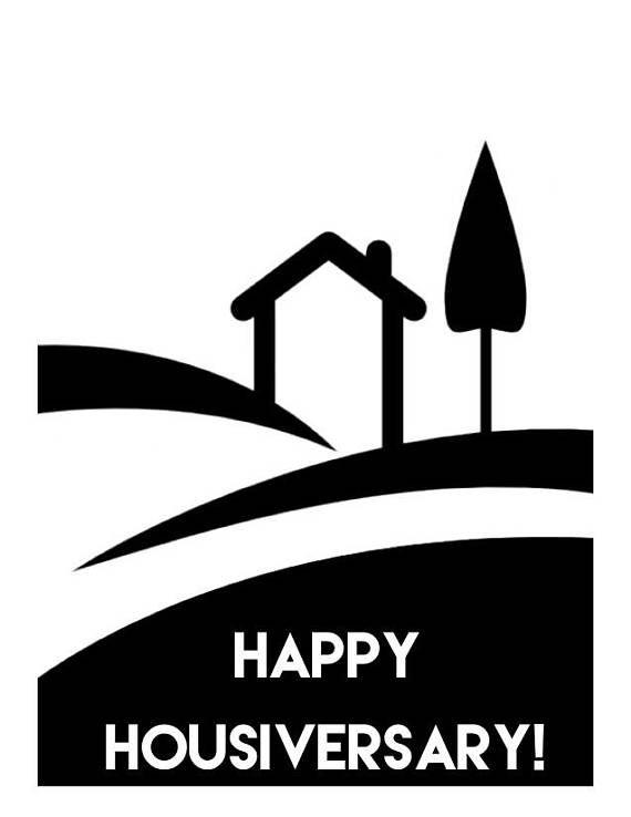 Happy Housiversary Stencil Happy Housiversary Quotes